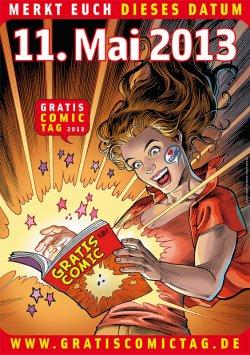 Gratis Comic Tag am 11.05.2013, einige Comics bereits online vorbestellbar