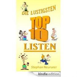 Neue gratis eBooks bei Amazon, z.B. Die lustigsten Top Ten Listen