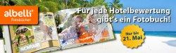 Gratis Fotobuch für Hotelbewertung bei holidaycheck