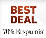 "Jetzt 70% Rabatt mit den ""Best Deals"" bei Dress for less"