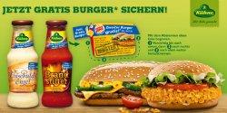 jetzt Coupons auf Kühne Sauceflaschen Burger King 2-Für-1