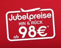 Jubelpreise bei AirBerlin – Flüge in den Sommerferien reduziert! (schon für 88€)