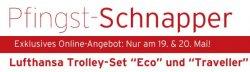 @Karstadt | Pfingst Schnapper – Lufthansa Trolley-Set Eco (Nur 25€ statt 69€) & Traveller (Nur 50€ statt 150€) mit Gutscheincode
