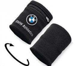 kostenloses Funktionsarmband vom Marathons Sponsor BMW & SportScheck