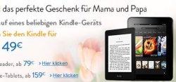 Kurze Zeit: Kindle für 49 EUR beim Kauf eines weiteren beliebigen Kindle-Geräts @Amazon