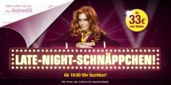 Late-Night-Schnäppchen | 1Mio. Germanwings Flugtickets ab 33€ – nur bis Freitag 8:00