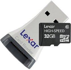 Lexar MicroSDHC Class 10 32GB Speicherkarte inkl. USB-Adapter für nur 21,99€ statt 34,78€