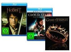 Mailights: DVDs, Blu-rays und TV-Serien zum Sonderpreis (z.B.: Der Hobbit nur 7,97€!) @Amazon