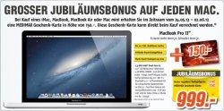 Lokal @MediMax: 150€ Rabatt beim Kauf eines Mac, z.B. Apple Mac mini für 429€ (Preisvergleich: 554€)