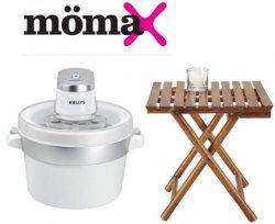 Mömax Online | Garten & Pool Artikel bis zu -62% reduziert, z.B. Krups Eismaschine für 39,90 € [Idealo: 55,59 €]