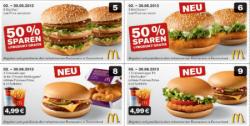 Neue McDonalds Gutscheine für Juni