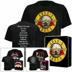 Nicht nur für Hardrockfans! – T-Shirt von Guns N` Roses und Ramones nur 9,99€ in tylischen Alu-Geschenk- und Sammelbox