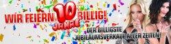 Redcoon, Jubiläum, Hammerdeals zum 10-jährigen, z.B.Panasonic Lumix DMC-LZ20 EG -K für 107 €uro