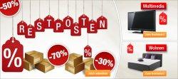 Restposten Schnäppchen – bis zu 70% Reduziert + 5% Gutschein @Plus.de
