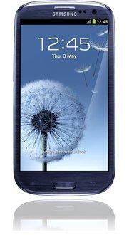 Samsung Galaxy S3 (weiß/blau) für nur 333 € statt 355 € + 2 Jahre Dropbox kostenlos