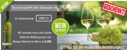 Südtiroler Weißburgunder Ritterhof Wein geschenkt! @Delinero