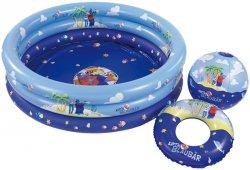 Swiming Pool + Wasserball + Wasserring 4,99€ inkl Versand (5€ Newsletter-Gutschein) @Tegut Ideenwelt