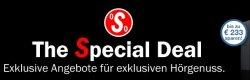 @Teufel, Special-Deals, Sondereditionen zum Sparpreis, bis zu 233 € sparen, z.B: Impaq 300 Blu-ray System