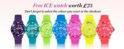 WEEKEND DEALS Kostenlose Ice-Watch-Angebot im Wert von 75€ auf Cosmopolitan Boutique UK (MBW £40)