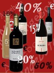 Weinvorteil – 10€ Gutschein oder Versandkostenfrei oder 40% Rabatt – Ihr habt die Wahl!