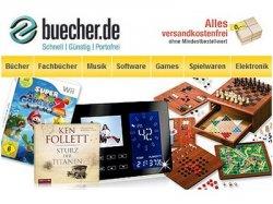 10€ Gutschein bei Bücher.de bei 50€ MBW