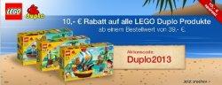 10€ Rabatt auf das gesamte Sortiment von Duplo mit Gutscheincode @Galeria Kaufhof