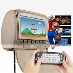 2 DVD Kopfstuetzen mit Player, Gaming-System & FM-Transmitter +gratis Infrarot Kophörer für 189,74 EUR @lightinthebox.com