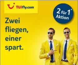 2 für 1 – Zwei fliegen, einer spart @TUIfly (z.B. Mallorca, Ibiza, usw.ab 43,99€)