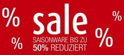50% Aktion bei GALERIA Kaufhof + Gutscheine
