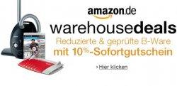 Ab 17.06. wieder bei Amazon: Warehousedeals mit 10% Sofortgutschein