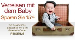 Amazon | 15% Rabatt auf Babyartikel