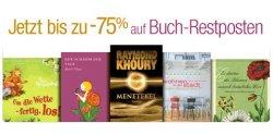 Amazon: Buch-Restposten bis zu 75% im Preis reduziert – natürlich versandkostenfrei