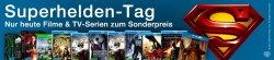 Amazon Superhelden Tag – Filme und TV-Serien zu Sonderpreisen / DVD / Blu-ray