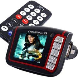 Auto FM Transmitter Radio MP4 Player 1.8 LCD bis 8GB für 10,59€ inkl. Versand