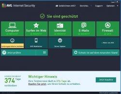 AVG Internet Security 2013 Virenscanner 1 Jahr komplett gratis statt 39,95€