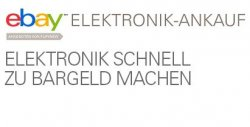 bis zu 90€ beim ebay Sofort-Ankauf für alte Elektronikgeräte erhalten (ab 100€ Ankaufspreis)