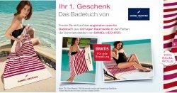 Daniel Hechter Badetuch Gratis zum Mitbestellen (MBW 9€) bei  Pierre Ricaud + 10€ Neukunden-Gutschein (MBW 30€)