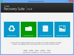Datenrettungsprogramm: 7-Data Recovery Suite 2.1 kostenlos downloaden