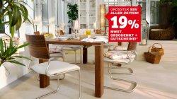 [Lokal] Durch Gutscheine günstige Möbel! + 19% MwSt. geschenkt! + 10% Rabatt* @XXXL