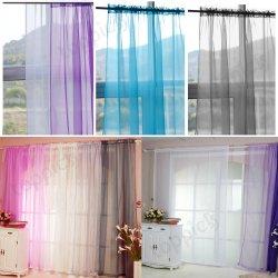 Gardinenschal Vorhänge in 6 Farben für 6,49€ inkl. Porto @eBay [Versand aus HongKong]