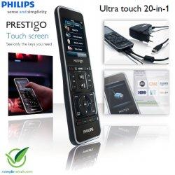 Heute beim iBOOD-Extra: Philips Prestigo SRT9320 Universal Fernbedienung für nur 59,95 €