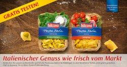 Hilcona Pasta kostenlos testen @hilcona.com