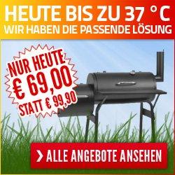 Hitze-Aktion: Reduzierte Haushaltsgeräte und Gartengeräte! @Notebooksbilliger