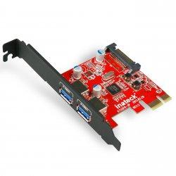 Inateck KTU3FR-2P 2-Port USB 3.0 express Desktop Schnittstellenkarte für EUR 11,99 @Amazon +Versand