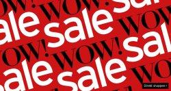 Karstadt: Wow! Sale mit bis zu 70% Rabatt (auch Elektronik!) + Gutscheine z.B. 10€ oder 15%, usw.