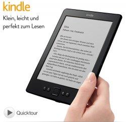 Der 6″ Kindle eReader mit WLAN jetzt für nur noch 69€ statt 79€ @Amazon