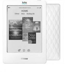 Kobo Touch N905 eBook Reader 6 Zoll mit WiFi [NEU] @Saturn via eBay für 52,99€ vergleichspreis lt. idealo ab 79,90€