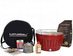 LotusGrill Rauchfreier Holzkohlegrill Starter-Set inkl. Brennpaste, Tasche und Holzkohle 159€ inkl. Versand