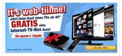 Medion: Günstige Elektronik Sachen! + gratis Internet-TV-Box beim Kauf eines TVs