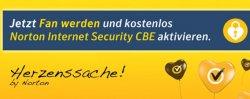Norton Internet Security CBE Jahreslizenz kostenlos als Facebook Fan